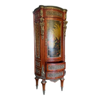 Vintage French Louis XVI Chestnut Armoire For Sale