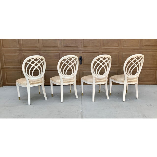 1990's Henredon Side Chairs - Set of 2 For Sale In Phoenix - Image 6 of 13