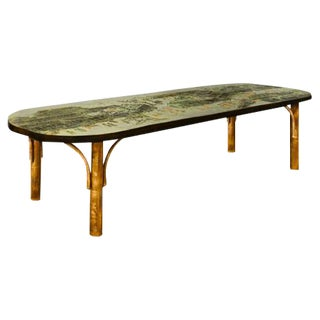 Low Table by Philip and Kelvin LaVerne For Sale