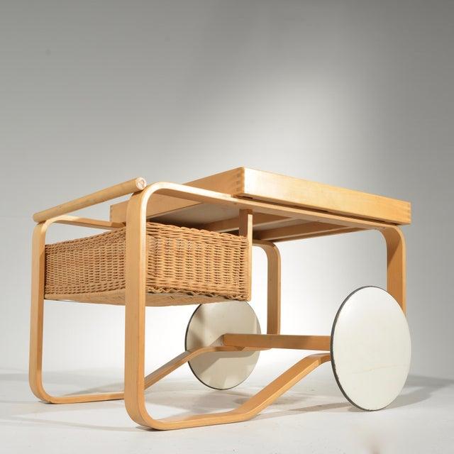 Alvar Aalto for Artek Tea Cart Model 900 For Sale - Image 12 of 13