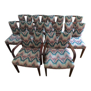 Paul Frankl for Johnson Furniture Corset Dining Chairs - Set of 8 For Sale