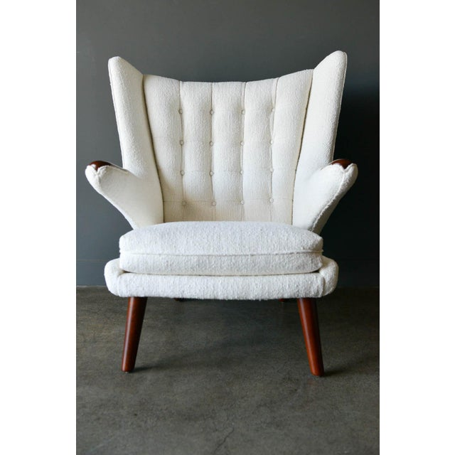"A.P. Stolen 1950s Hans Wegner Model Ap19 ""Papa Bear"" Chair For Sale - Image 4 of 13"