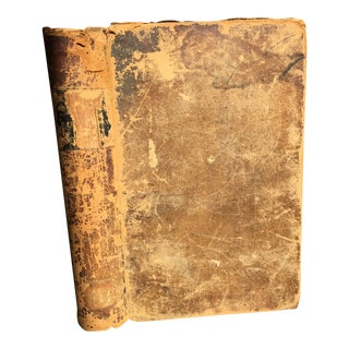 1843 Antique Leather-Bound Obstetric Medical Book For Sale