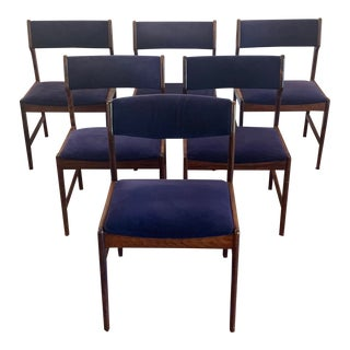 Danish Mid-Century Modern Teak Dining Chairs - Set of 6 For Sale