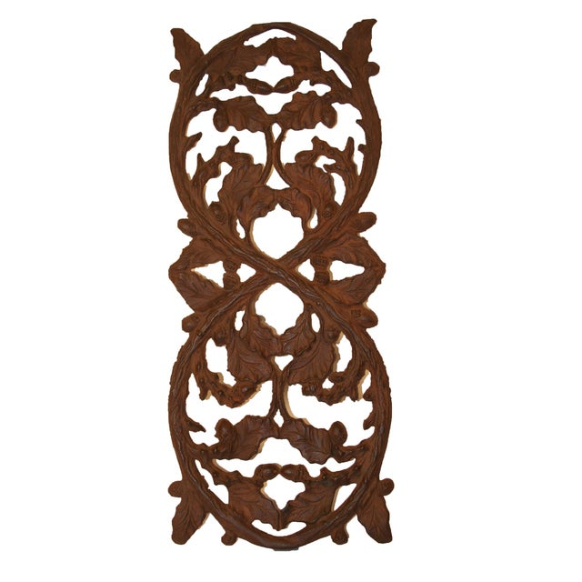 Early 1900's Wrought Iron Wall Decor - Image 1 of 4