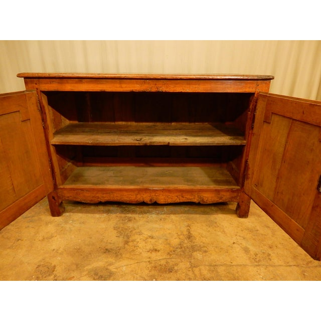 18th Century French Provincial Walnut Buffet For Sale In New Orleans - Image 6 of 8