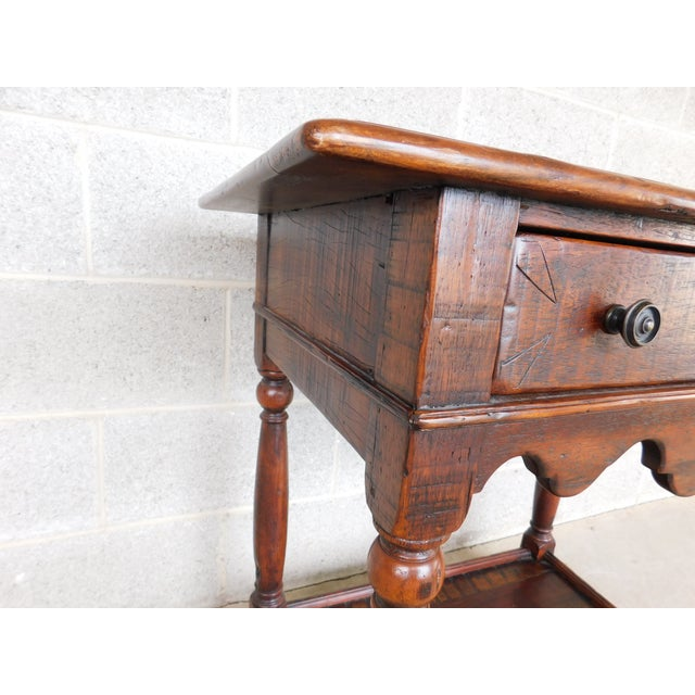 Theodore Alexander Castle Bromwich Collection 1 Drawer Accent Table For Sale In Philadelphia - Image 6 of 12
