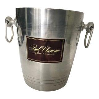 Vintage Aluminum Champagne Ice Bucket