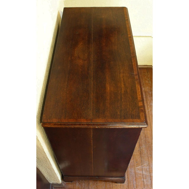 Brown 18th Century English Country Chest of Drawers For Sale - Image 8 of 10