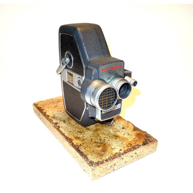 Submitted for your consideration is this Bell & Howell 240 16mm Portable Motion Picture Camera, Circa 1957. This same...