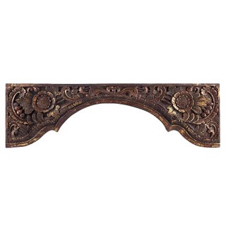 Architectural Wooden Doorway Embellishment For Sale