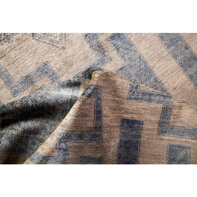 """Textile Bohemian Hand-Knotted Area Rug 7' 10"""" x 10' 0"""" For Sale - Image 7 of 9"""