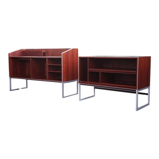 Jensen Rosewood Bang & Olufsen Mid Century Credenzas - Set of 2 For Sale