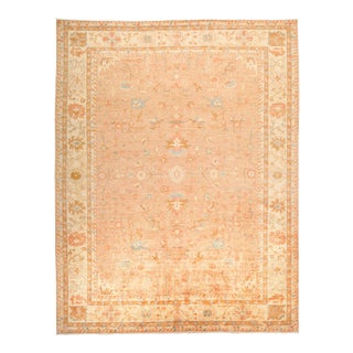 """Oushak Hand Knotted Area Rug - 9' 4"""" X 11' 9"""""""