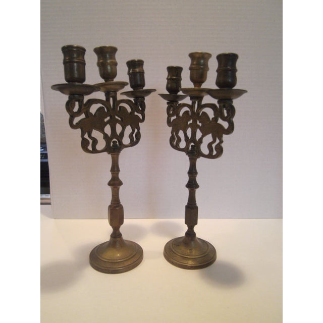 Antique Chinese Candelabrum - A Pair - Image 6 of 8
