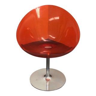Philippe Starck Orange Eros Chair for Kartell
