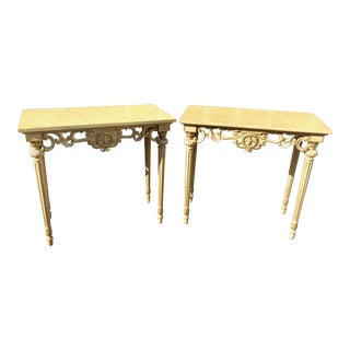 Italian Neoclassical Console Tables - A Pair