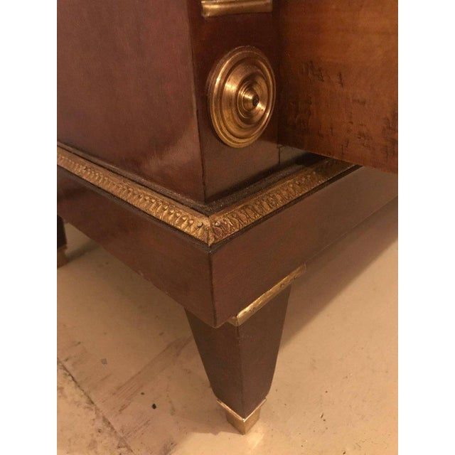 Pair of Bronze Mounted Step Up Commodes in the Russian Neoclassical Style - Image 8 of 10