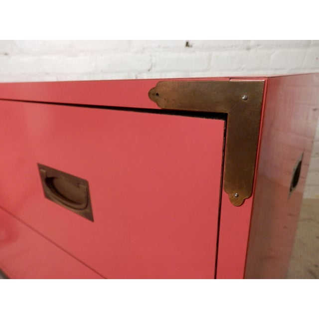 Campaign Style Chests For Sale In New York - Image 6 of 8