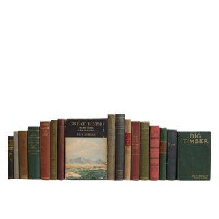 Vintage Cabin Culture: Outdoorsmen Book Set For Sale