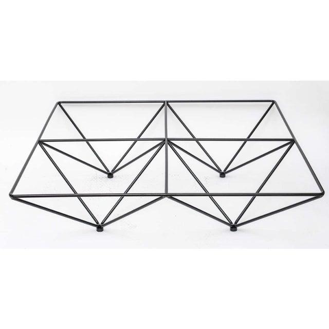 Minimalist Geometric Paolo Piva Alanda Coffee Table - Image 2 of 10