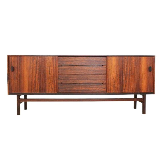Mid Century Modern Rosewood Credenza by Nils Jonsson for Troeds For Sale