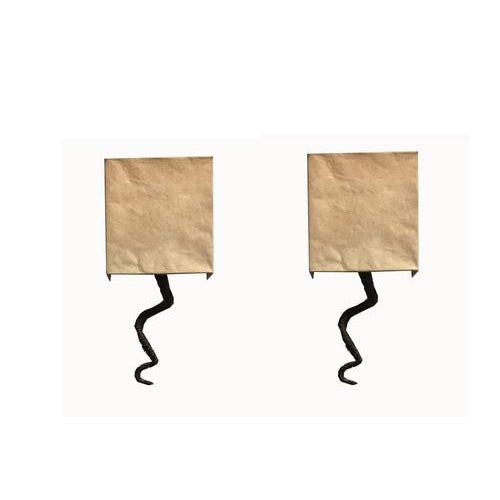 1970s French Wrapped Wire Sculptural Sconce With Original Half Shade - a Pair For Sale - Image 11 of 11