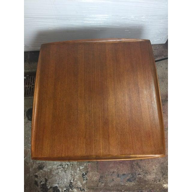 1980s Scandinavian Modern Dux Sweden Teakwood Coffee Table For Sale - Image 12 of 13
