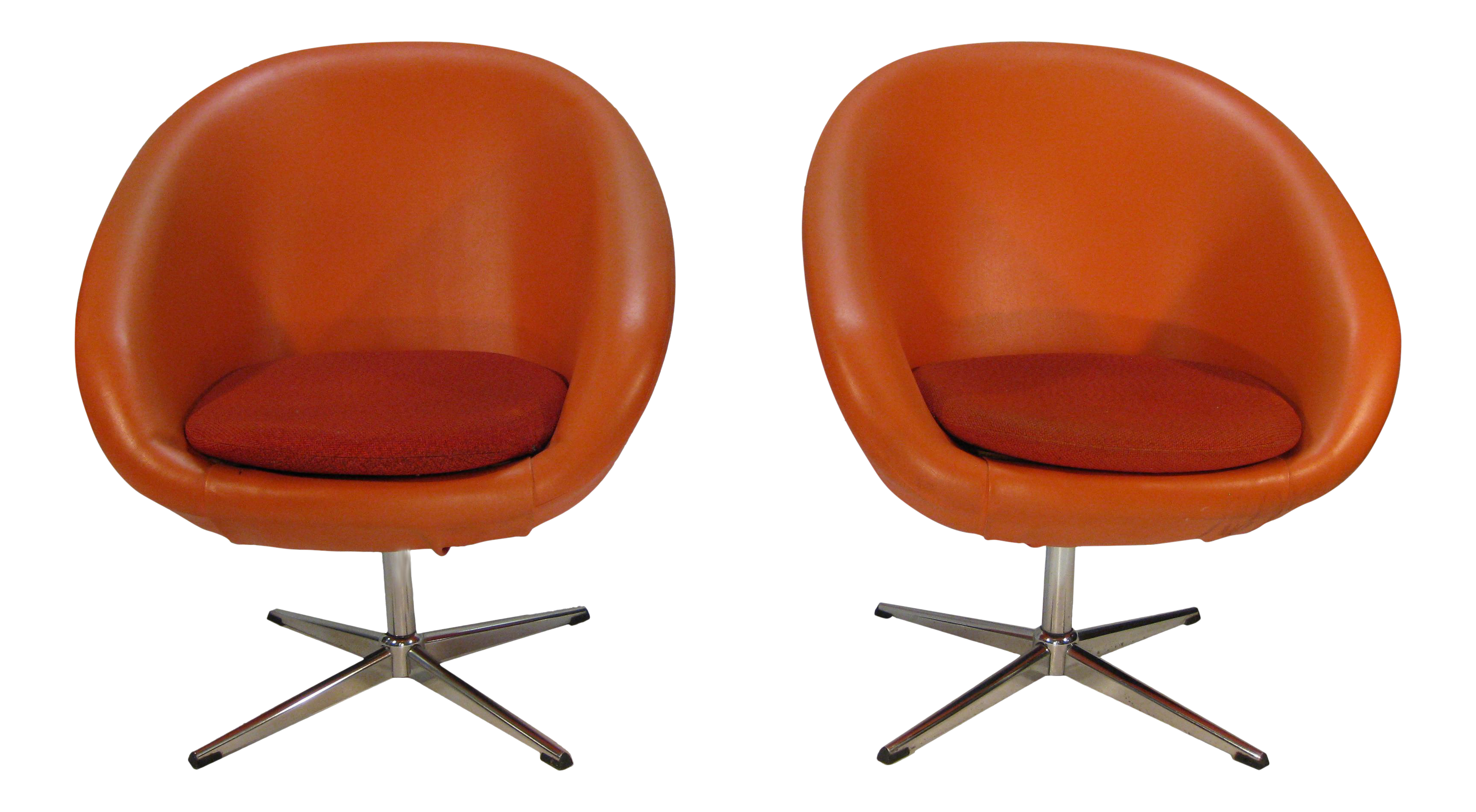 Overman Sweden Pod Chairs   A Pair