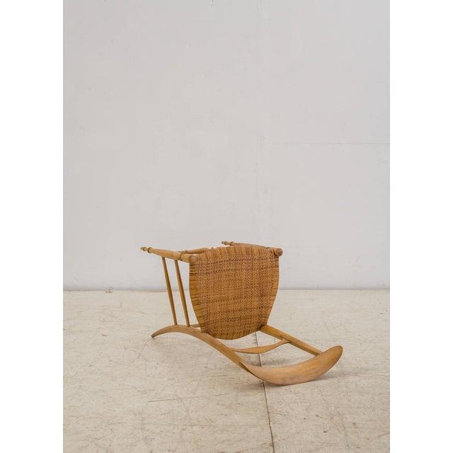 Beech Italian Campanino Chair by Chiavari Giuseppe Gaetano Descalzi, 1807 For Sale - Image 7 of 10