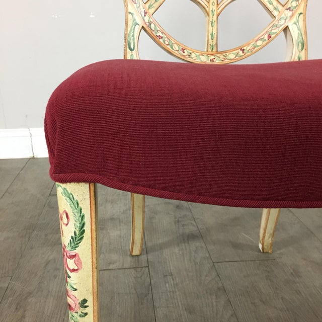 Hand Painted Side Chair - Image 7 of 10
