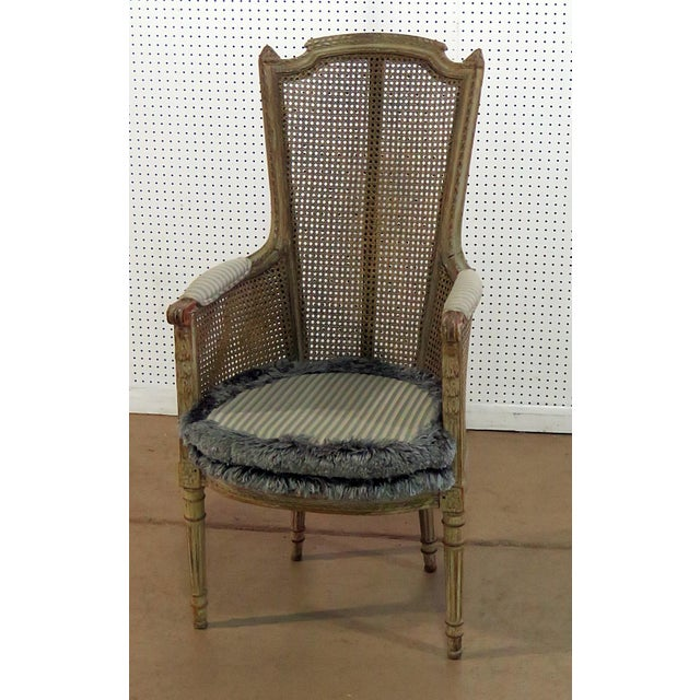 Louis XV Style Armchair For Sale - Image 9 of 9
