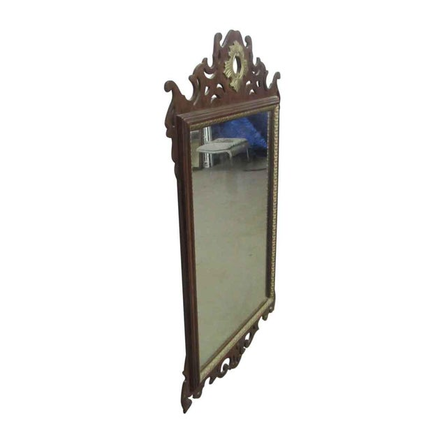 Gothic Antique Decorative Wall Mirror For Sale - Image 3 of 8