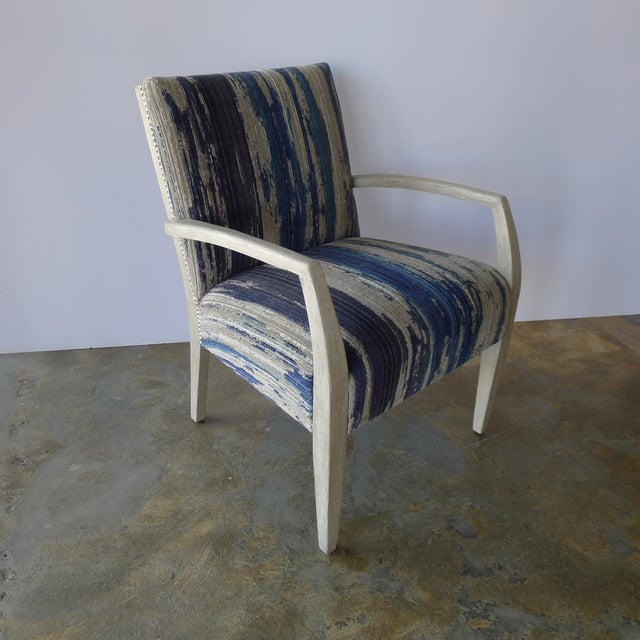 Gray Mid-Century Occasional - Lounge Chair Reimagined For Sale - Image 8 of 8