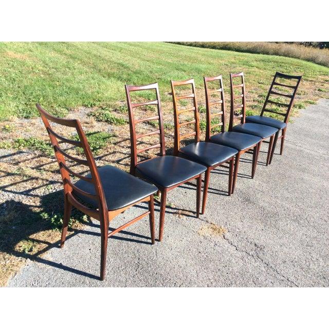 Niels Koefoed Rosewood & Teak Chairs - Set of 6 - Image 3 of 10