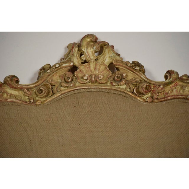 Vintage French Louis XV Style Carved Bergeres - a Pair - Image 6 of 11