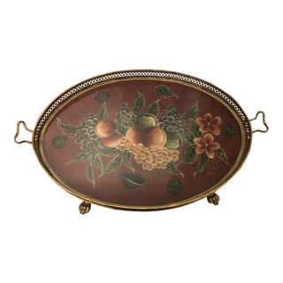 Traditional Decorative Tray For Sale