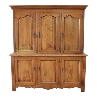 George S Hunt Solid Walnut Hand Made Solid Walnut Cupboard For Sale