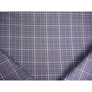4-3/4y Zoffany Sanderson Dbyr23329 Langry Tartan Wool Upholstery Drapery Fabric For Sale