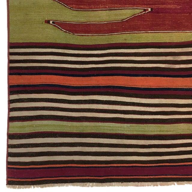 Rug & Relic, Inc. Rug & Relic Vintage Balikesir Kilim | 3'11 X 5'4 For Sale - Image 4 of 5