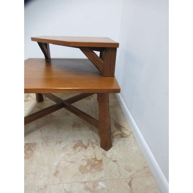 A. Brandt Ranch Oak Furniture Brandt Ranch Oak End Table For Sale - Image 4 of 11