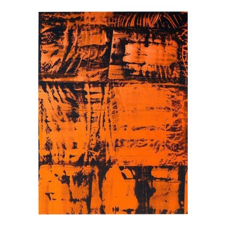 Overscale Abstract Painting by Brazilian Artist Norberto Noschang