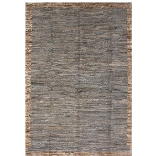Aara Rugs Inc. Moroccan Inspired Hand-Knotted Rug - 5′10″ × 8′6″ For Sale