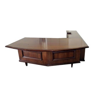 Monteverdi Young Grand Executive Desk With Left Hand Return
