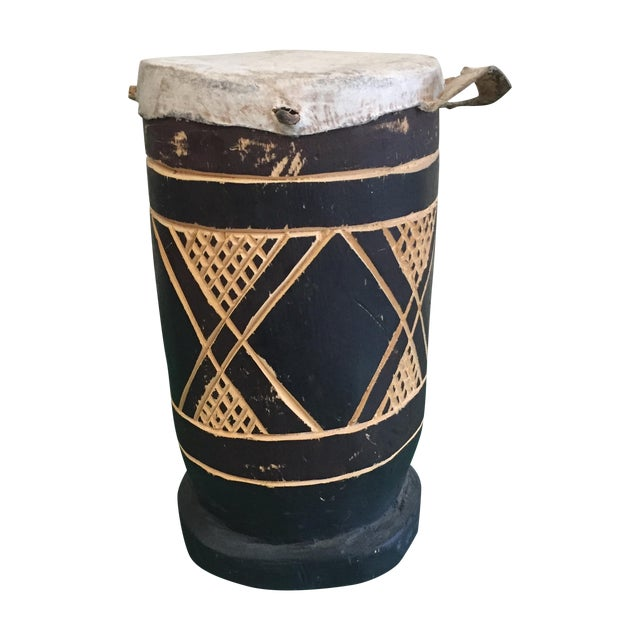 Vintage Hand Made Drum - Image 1 of 6