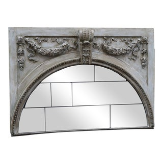 Antique Mirrored French Headboard
