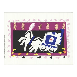1991 Henri Matisse 'Pierrot's Funeral' Modernism France Serigraph For Sale
