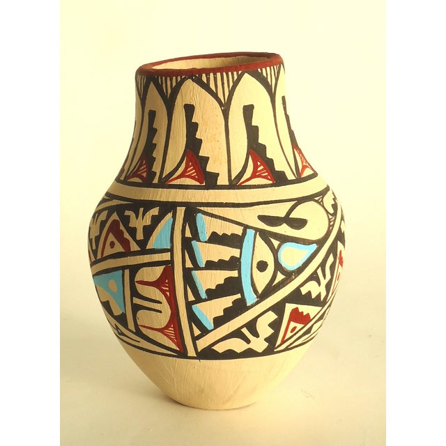 Jemez Native American Pottery Vase - Image 2 of 7