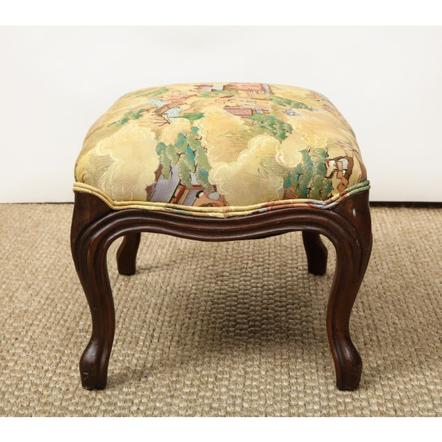 Small Louis XV Style Footstool For Sale - Image 4 of 10