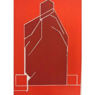 Pablo Palazuelo Original Lithograph, Untitled Dm02184 For Sale